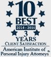 10 Best Personal Injury Attorneys logo